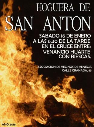 Hoguera de San Antón 2016