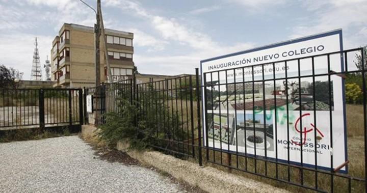 imagen del viejo colegio lestonnac en torrero