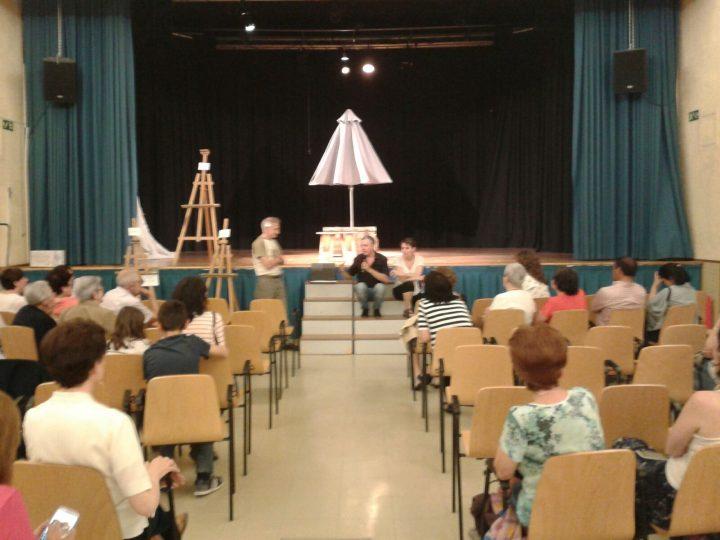 teatro-forum después de la representación