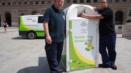 En octubre se instalarán por toda la ciudad contenedores de recogida de aceite doméstico
