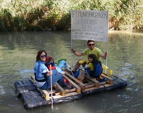 Una imagen de la Bajada del Canal 2016, que se celebró ayer.