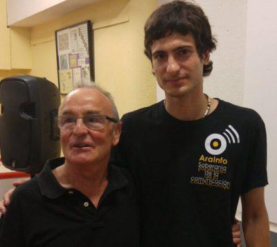 'Javier, 40 años de lucha vecinal': vídeo de AraInfo dedicado a Javier Grassa, un histórico del barrio