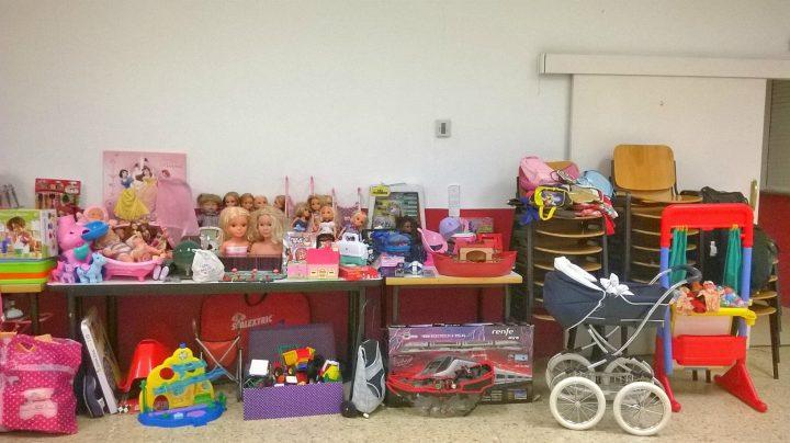 Nuevo éxito de la campaña solidaria de recogida de juguetes durante la pasada Navidad