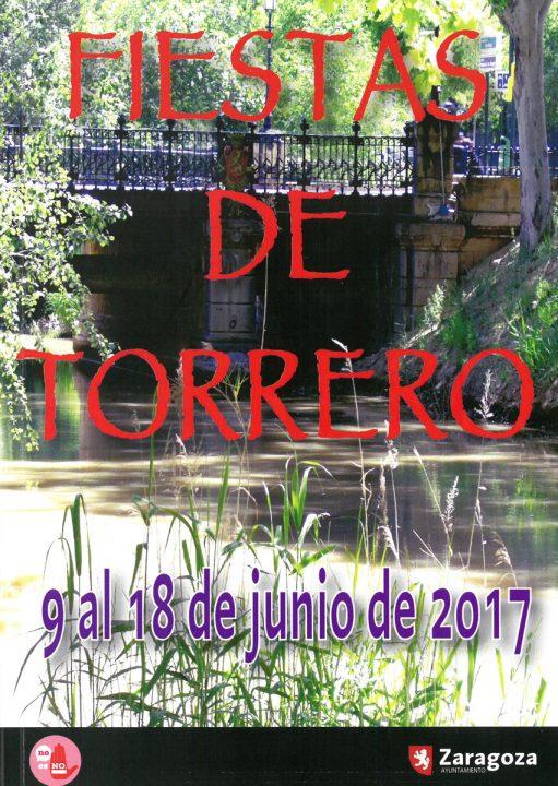 cartel fiestas torrero 2017