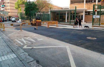Reparado el reventón de la Calle Oviedo del pasado viernes