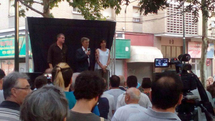 acto de repulsa por los atentados de Barcelona