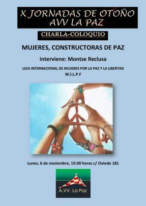 Cartel Jornadas de Otoño La Paz