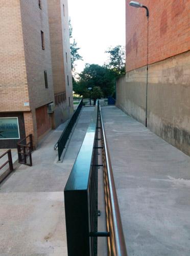 Rampa escaleras