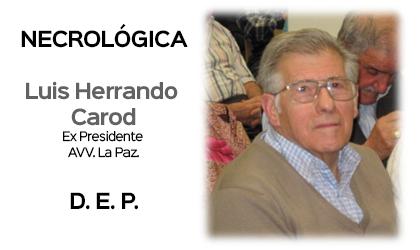 Necrológica Luis Herrando Carod