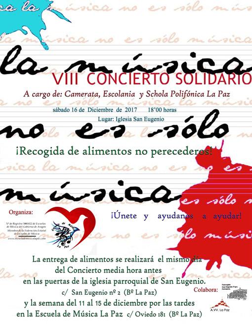 VIII Concierto Solidario en La Paz