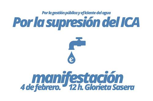 Cartel de la Manifestación del ICA
