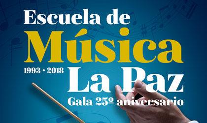 Gala del 25 aniversario de la escuela de Música La Paz