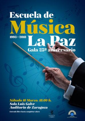 Gala 25 aniversario Escuela de Música La Paz