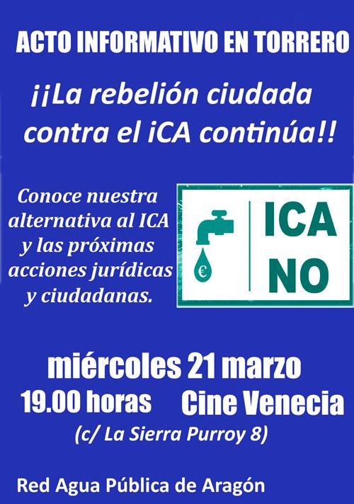 Cartel Acto ICA