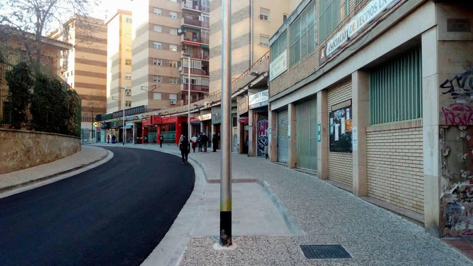 reforma calle Oviedo Torrero-La Paz