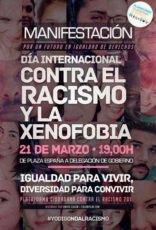 Manifestación por un Futuro sin Racismo