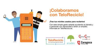 El Centro Cívico de Torrero abre un punto de recogida de móviles