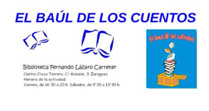 El Baúl de los Cuentos en la Biblioteca Lázaro Carreter en abril