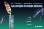 XV Semana de las Letras de Torrero: La Ciencia toma la Palabra