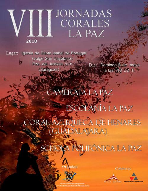 VIII Jornadas Corales La Paz