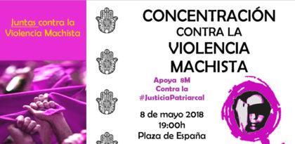 """Concentración contra la violencia Machista """"Yo si te creo"""""""