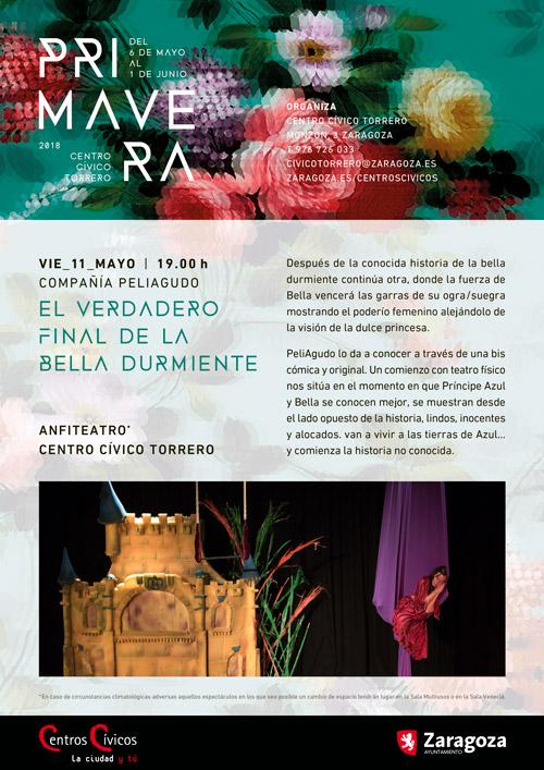Centro Cívico Torrero: Actividades Primavera 2018