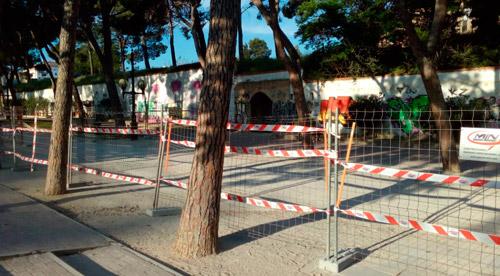 Obras depósitos de Pignatelli