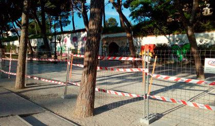 Comienzan las obras de los antiguos depósitos del Pignatelli