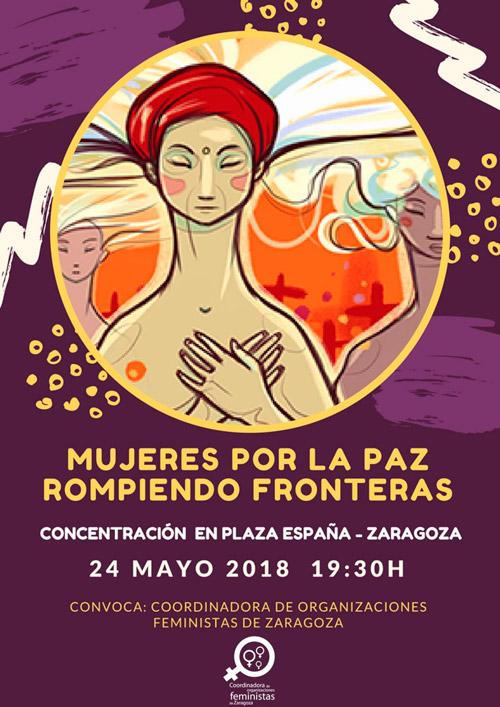 Mujeres por la Paz Rompiendo Fronteras