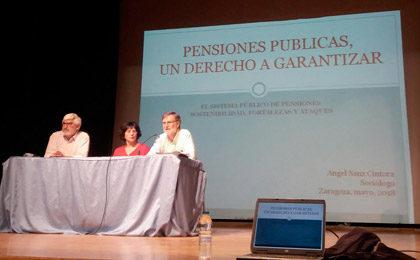 Mucho interés vecinal en la charla sobre pensiones