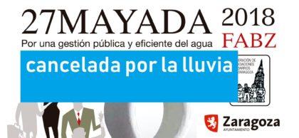 Cancelada la 27Mayada