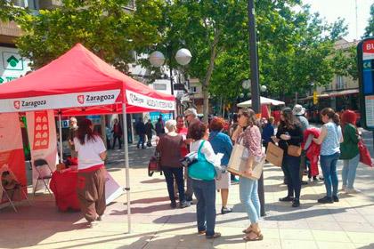 El Programa Alegra tu Vivienda sale a la calle en Torrero