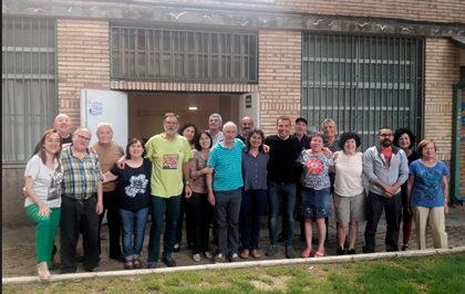 Comida de Convivencia en la Asociación Vecinal la Paz
