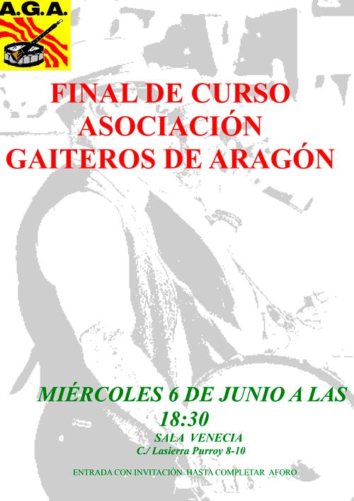 Fin de Curso Gaiteros de Aragón 2018
