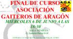 Final de Curso Asociación Gaiteros de Aragón