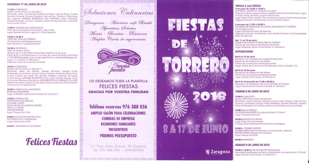 Fiestas de Torrero 2018