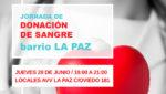 Jornada de Donación de Sangre Barrio La Paz