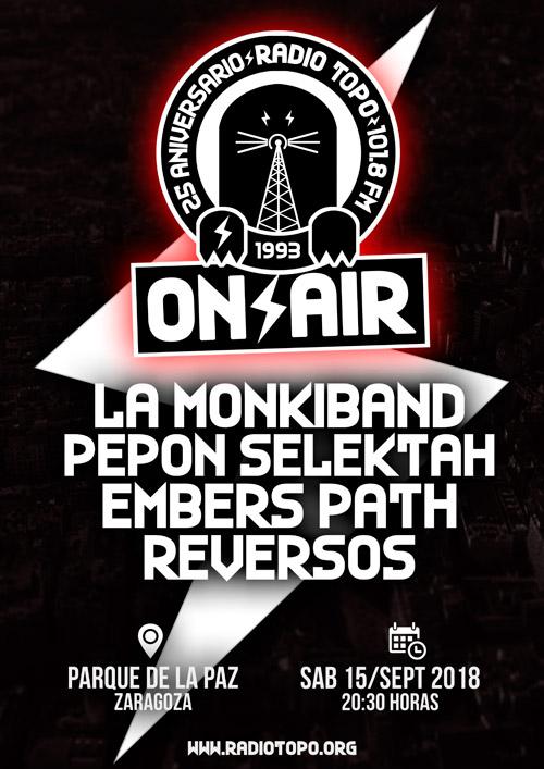 25 aniversario Radio Topo