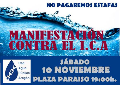 Manifestación ICA 10-11-2018