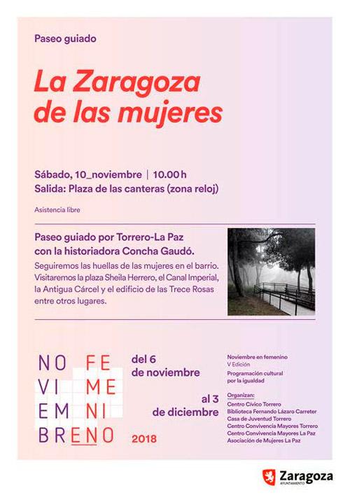 8ª Jornada contra la Violencia Machista Torrero-La Paz
