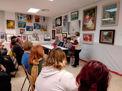 25 aniversario de los talleres de arte AVV La Paz