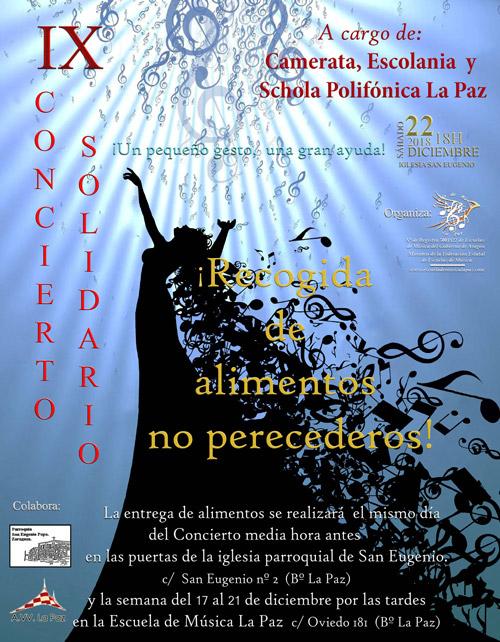 IX Concierto Solidario Escuela de Música la Paz 2018
