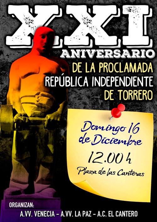 XXI Aniversario República Independiente de Torrero