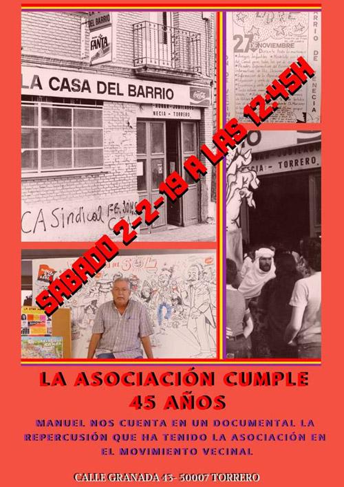 Aniversario AVV Venecia-Montes de Torrero