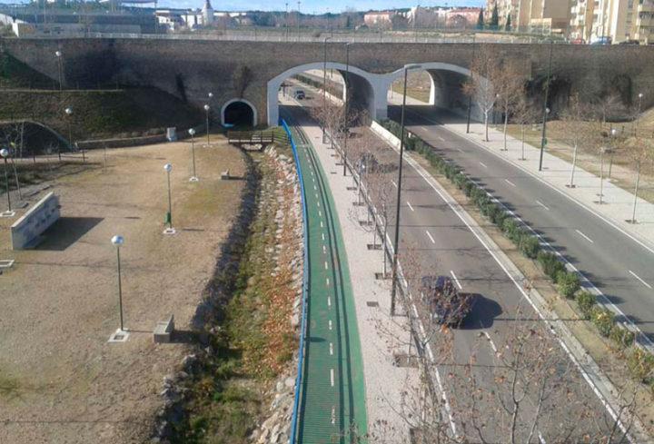 Barranco de la Muerte. Barrio La Paz Zaragoza 2002
