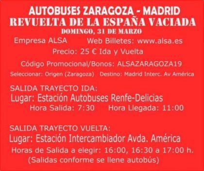 Convocada una movilización en Madrid por la España Vaciada