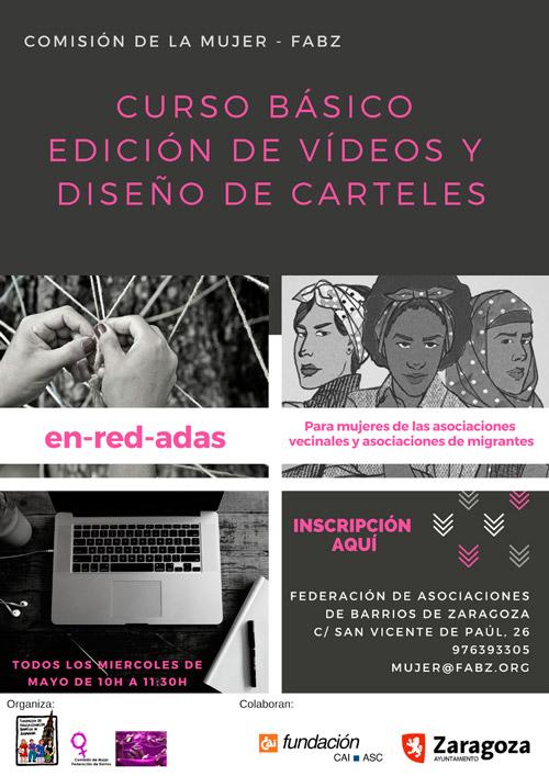 Curso de edición de video y carteles mayo 2019