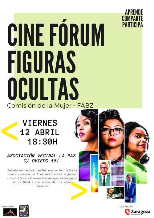 Cine Fórum Figuras Ocultas 04-04-2019