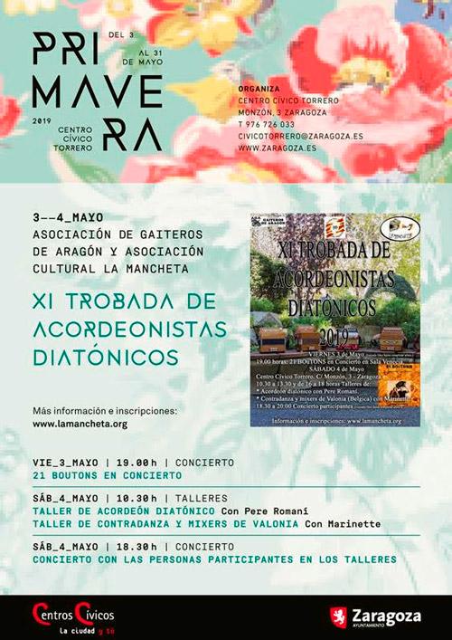 Programación Primavera 2019 Centro Cívico de Torrero