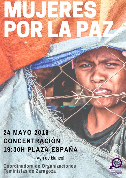 Concentración Mujeres por la Paz 24-05-2019